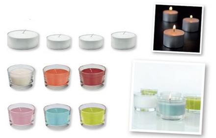 svece u čaši